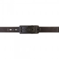 COQU BELT LOW BROWN