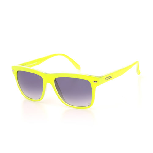 YELLOW FLUO MIRROR SHADE SMOKE